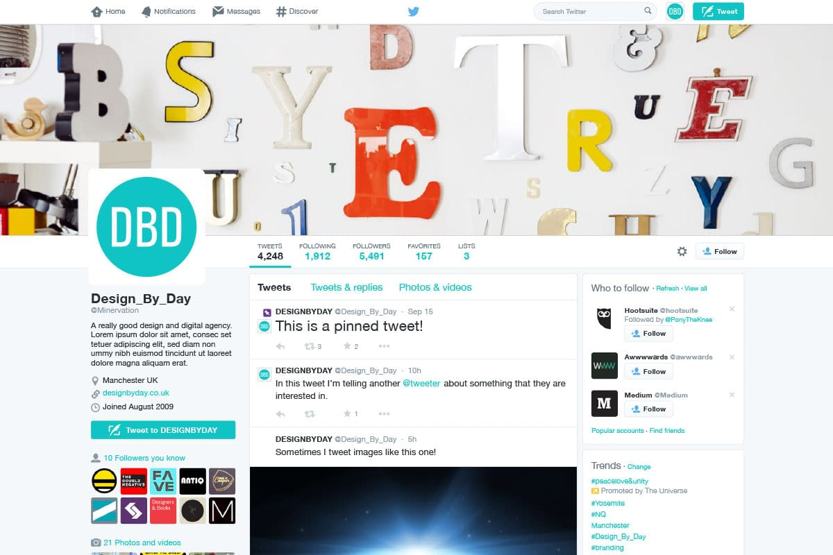 Vector Twitter User Interface 2014 Adobe- Illustrator