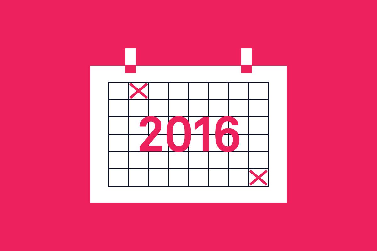 design events 2016