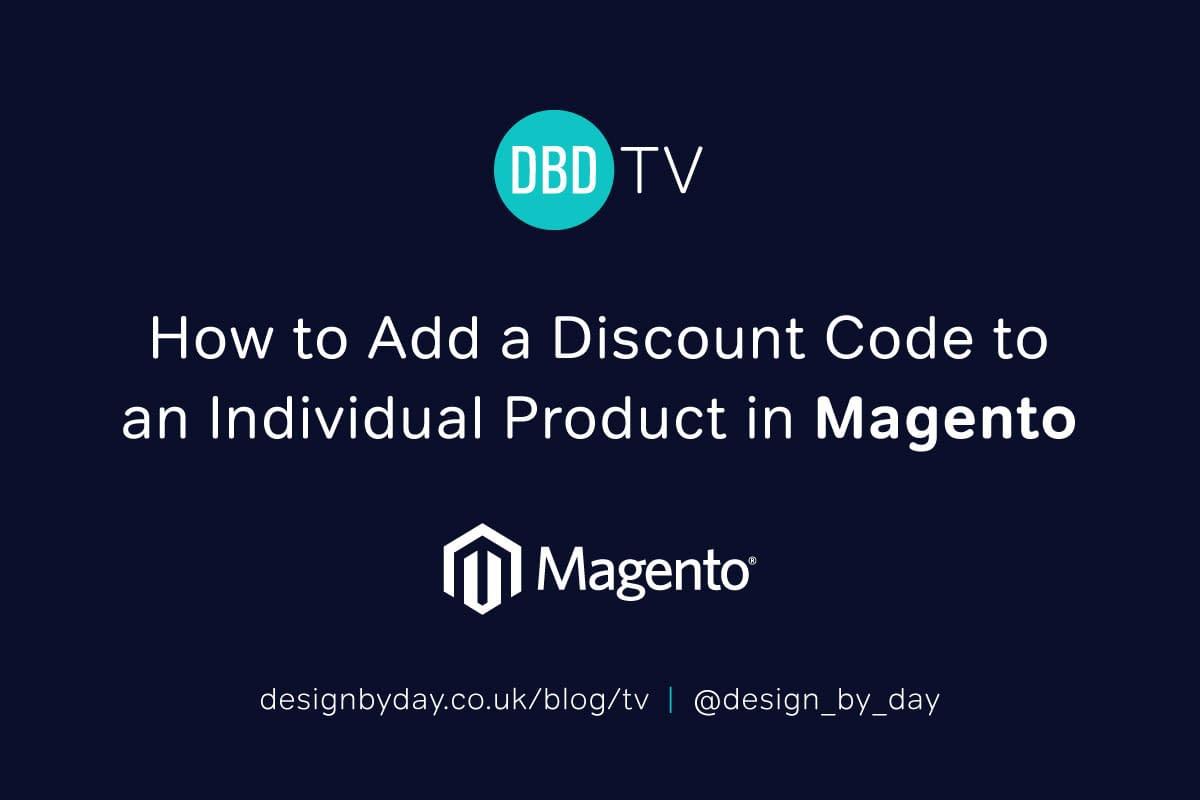 discount code magento