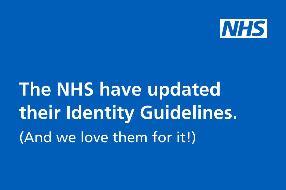 NHS brand guidelines