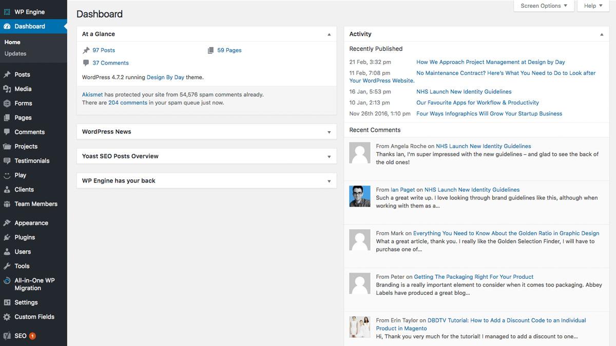 WordPress Development Manchester