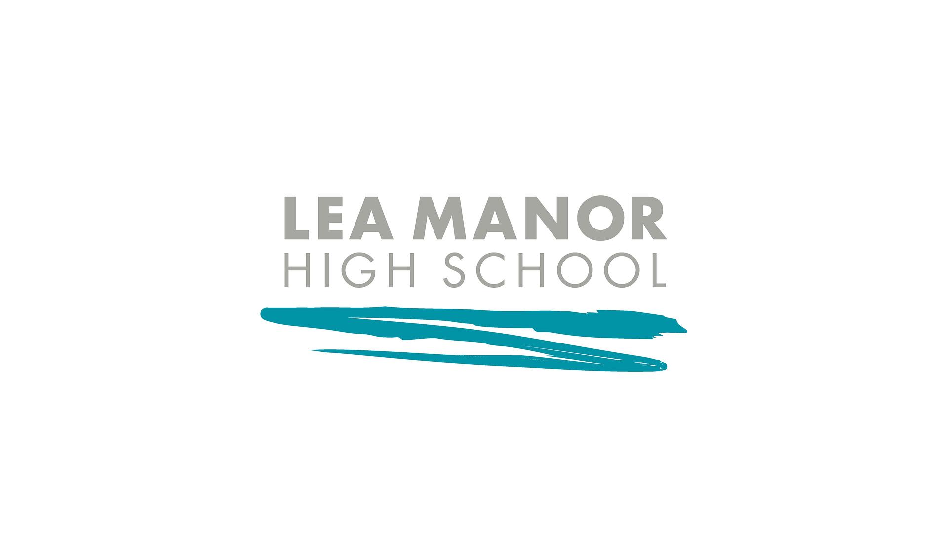 Lea Manor High School logo