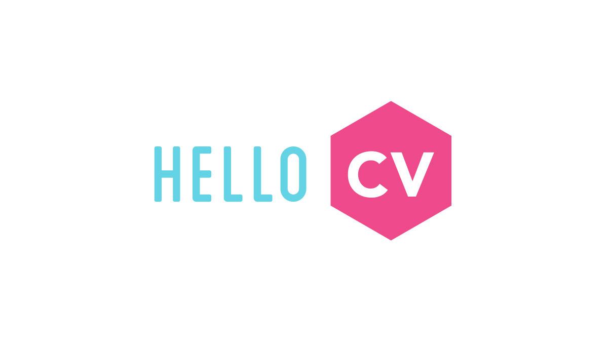 Hello CV logo
