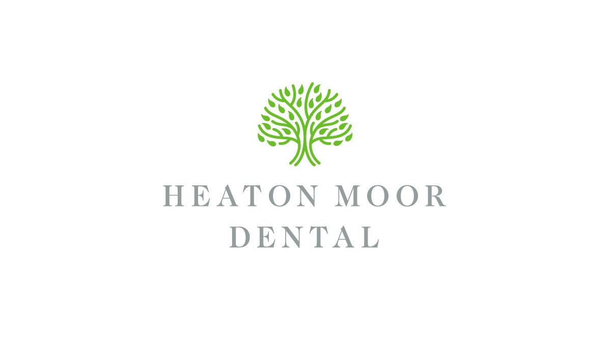 heaton moor dental logo