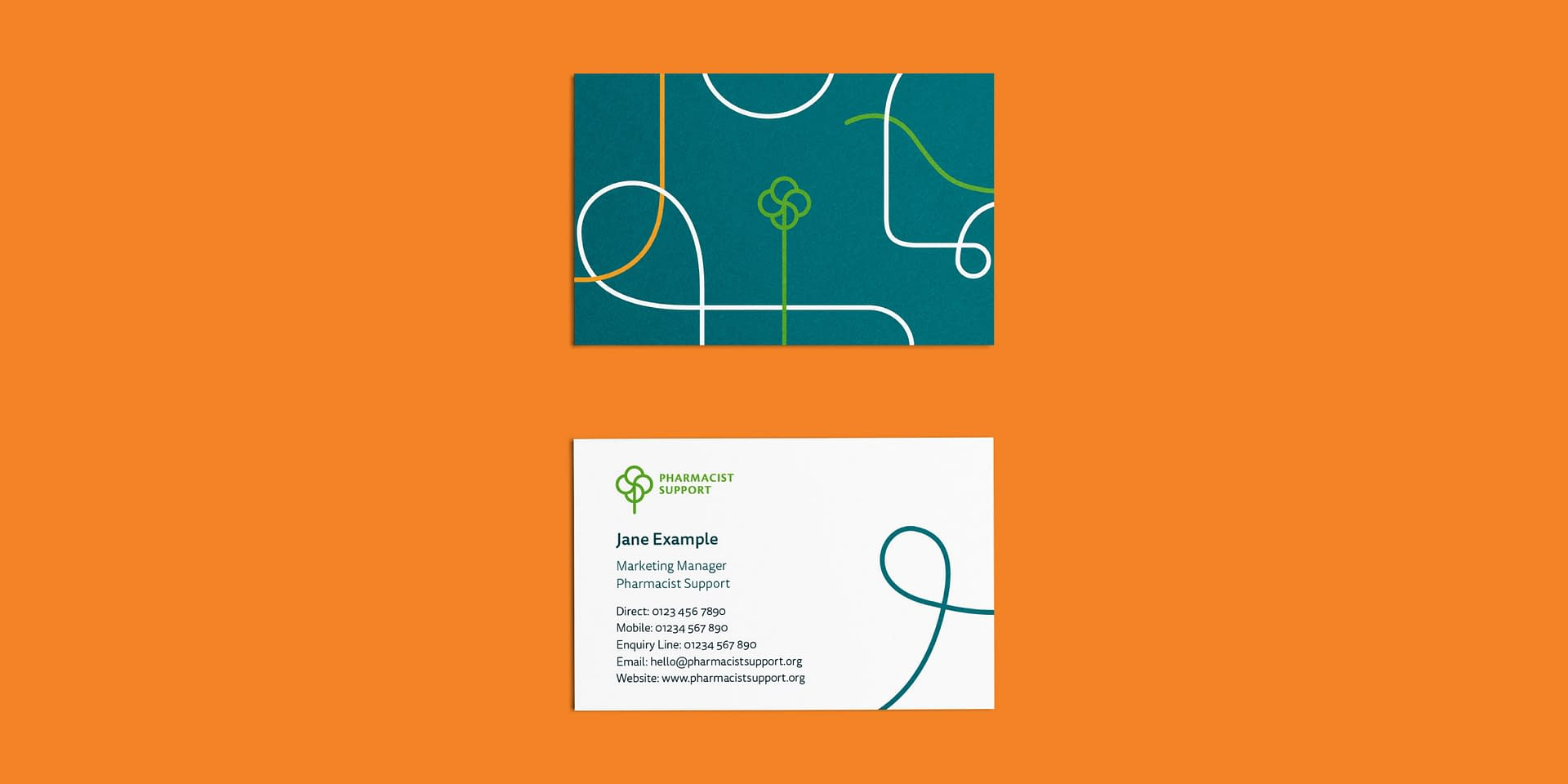 Pharmacist Support business cards