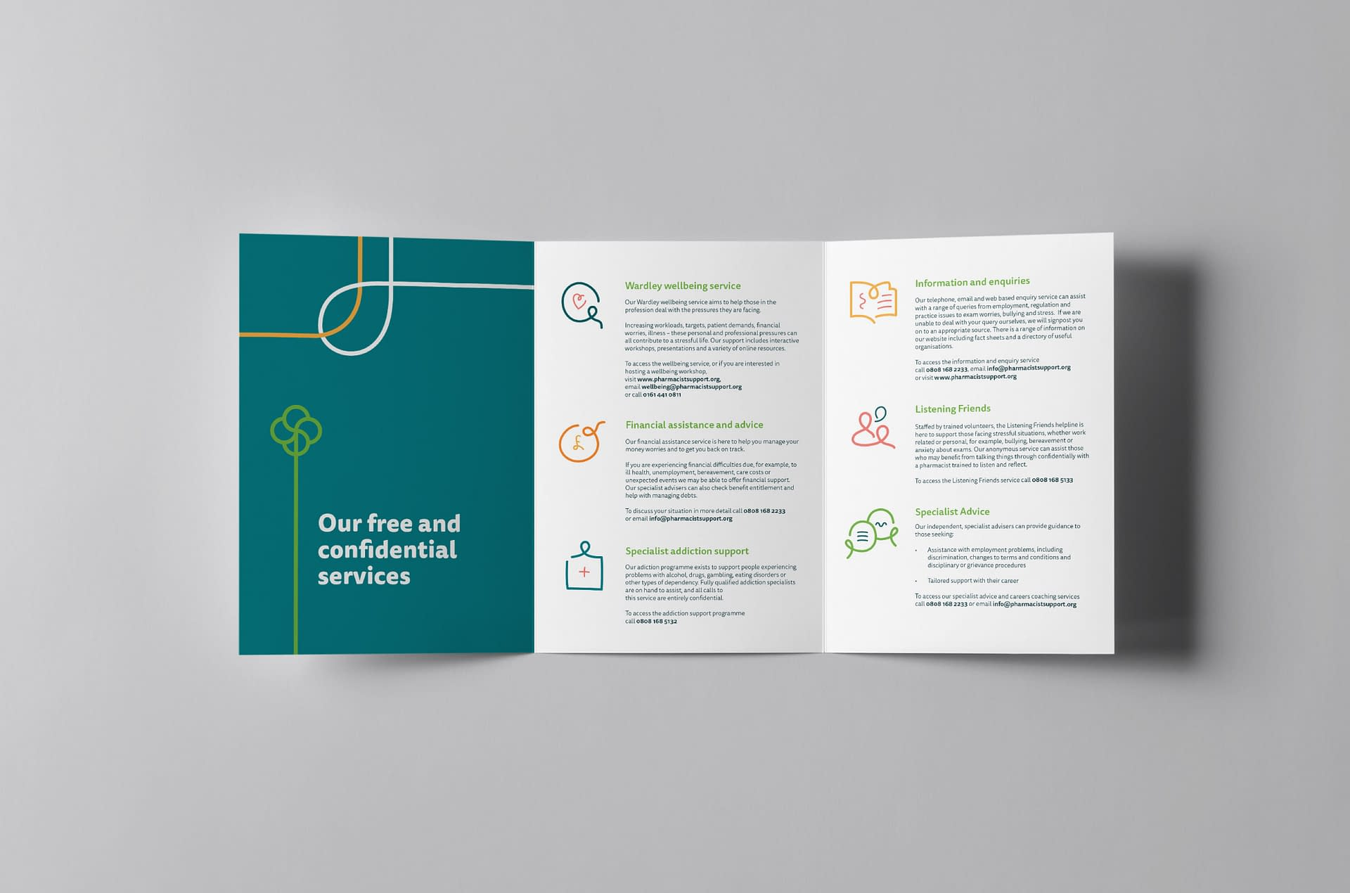 Pharmacist Support leaflet