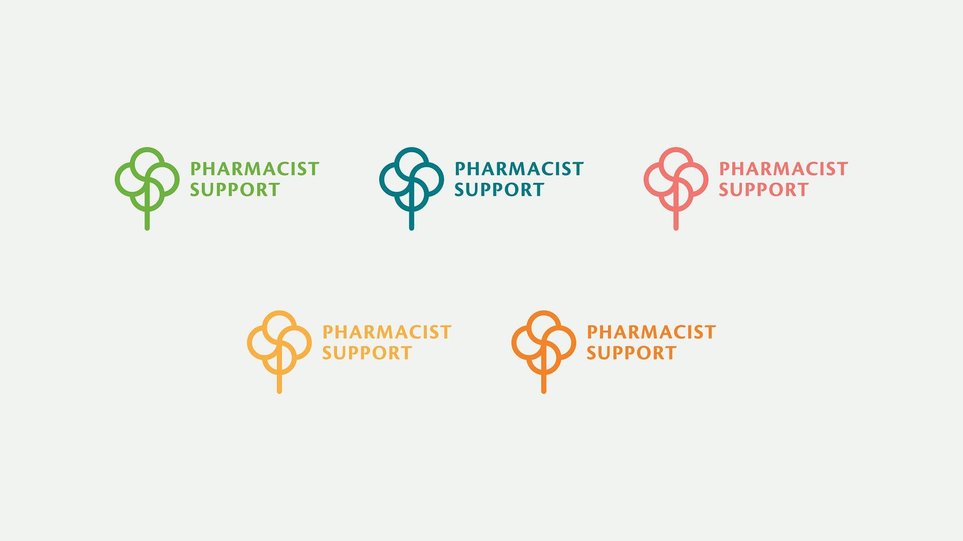 Pharmacist Support logos